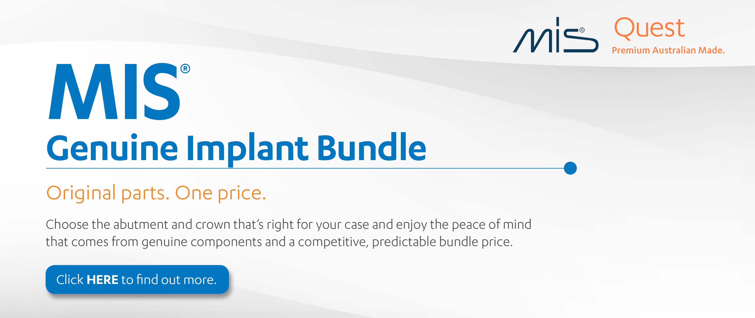 MIS Genuine Implant bundle